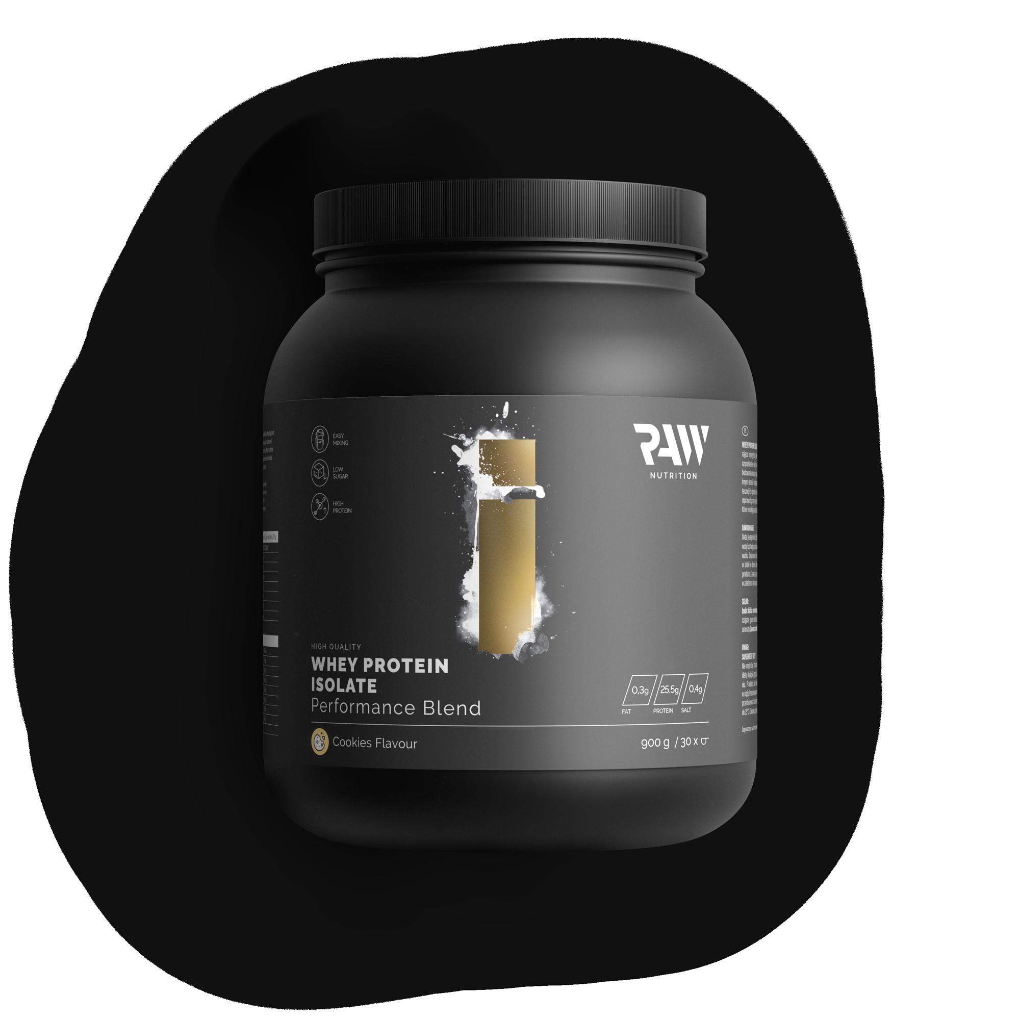 Isolate Protein Performance Blend - Ciasteczka