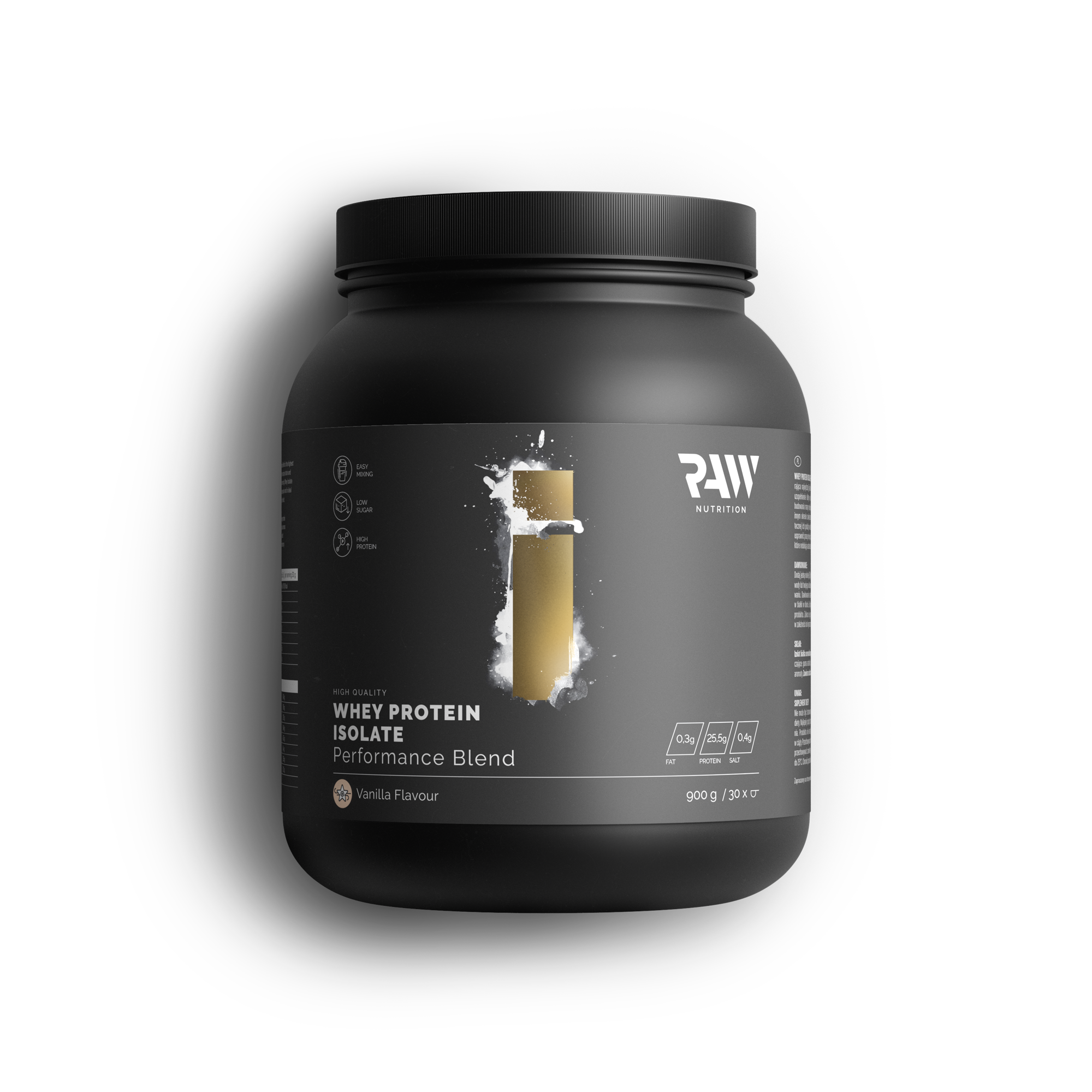 Isolate Protein Performance Blend - Wanilia