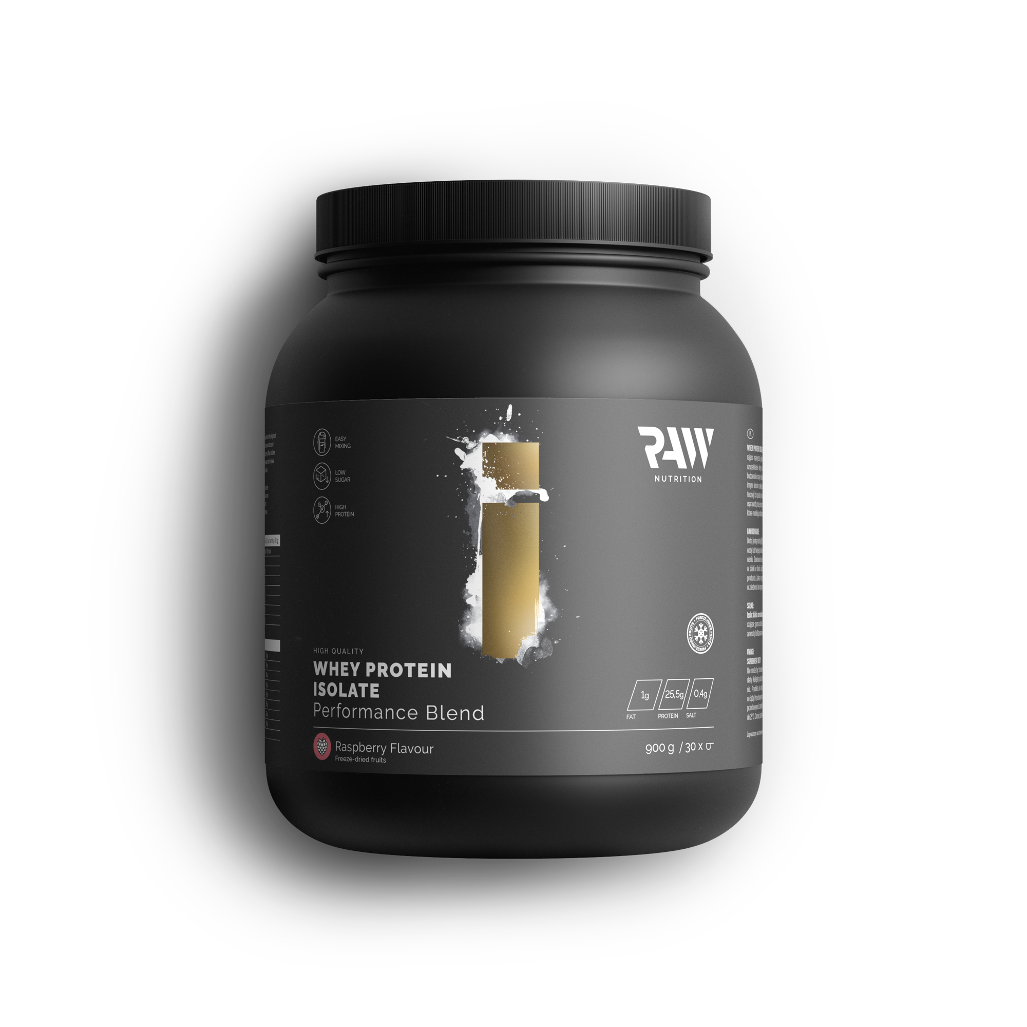 Isolate Protein Performance Blend - Malina